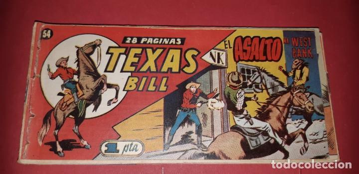 Tebeos: TEBEOS-COMICS CANDY - TEX WILLER - TEXAS BILL - COMPLETA - HISPANOAMERICANA 1949 - UNICA - UU99 - Foto 107 - 205257267