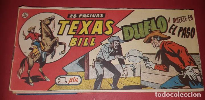 Tebeos: TEBEOS-COMICS CANDY - TEX WILLER - TEXAS BILL - COMPLETA - HISPANOAMERICANA 1949 - UNICA - UU99 - Foto 111 - 205257267