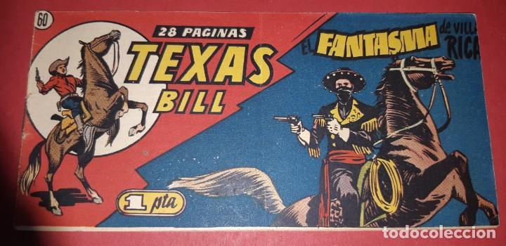 Tebeos: TEBEOS-COMICS CANDY - TEX WILLER - TEXAS BILL - COMPLETA - HISPANOAMERICANA 1949 - UNICA - UU99 - Foto 119 - 205257267