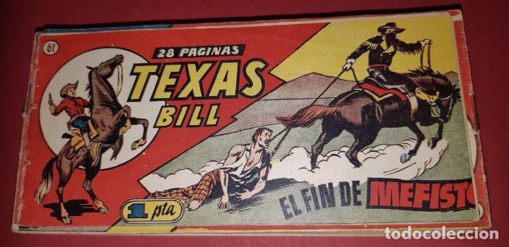 Tebeos: TEBEOS-COMICS CANDY - TEX WILLER - TEXAS BILL - COMPLETA - HISPANOAMERICANA 1949 - UNICA - UU99 - Foto 121 - 205257267