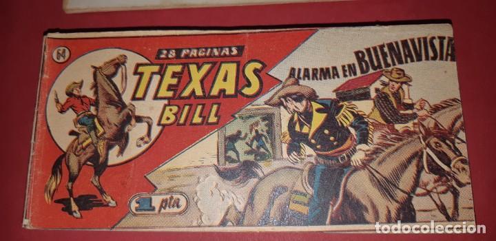 Tebeos: TEBEOS-COMICS CANDY - TEX WILLER - TEXAS BILL - COMPLETA - HISPANOAMERICANA 1949 - UNICA - UU99 - Foto 127 - 205257267