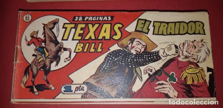 Tebeos: TEBEOS-COMICS CANDY - TEX WILLER - TEXAS BILL - COMPLETA - HISPANOAMERICANA 1949 - UNICA - UU99 - Foto 129 - 205257267