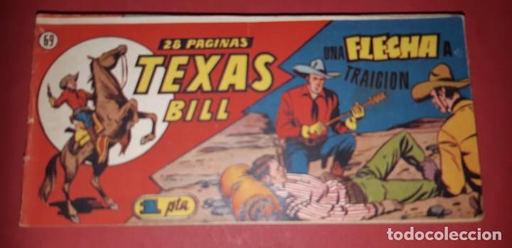 Tebeos: TEBEOS-COMICS CANDY - TEX WILLER - TEXAS BILL - COMPLETA - HISPANOAMERICANA 1949 - UNICA - UU99 - Foto 137 - 205257267