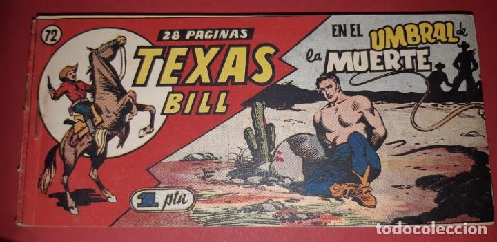 Tebeos: TEBEOS-COMICS CANDY - TEX WILLER - TEXAS BILL - COMPLETA - HISPANOAMERICANA 1949 - UNICA - UU99 - Foto 143 - 205257267