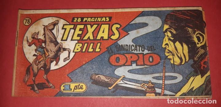 Tebeos: TEBEOS-COMICS CANDY - TEX WILLER - TEXAS BILL - COMPLETA - HISPANOAMERICANA 1949 - UNICA - UU99 - Foto 155 - 205257267