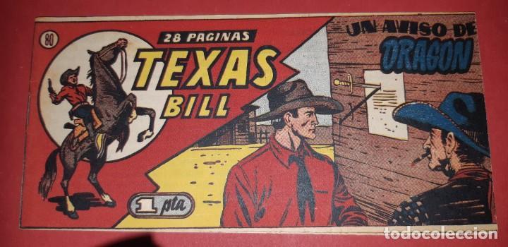 Tebeos: TEBEOS-COMICS CANDY - TEX WILLER - TEXAS BILL - COMPLETA - HISPANOAMERICANA 1949 - UNICA - UU99 - Foto 159 - 205257267