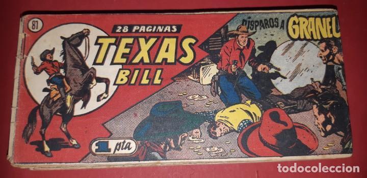 Tebeos: TEBEOS-COMICS CANDY - TEX WILLER - TEXAS BILL - COMPLETA - HISPANOAMERICANA 1949 - UNICA - UU99 - Foto 161 - 205257267