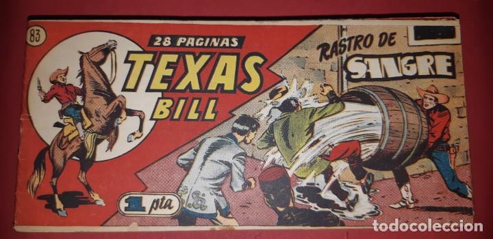 Tebeos: TEBEOS-COMICS CANDY - TEX WILLER - TEXAS BILL - COMPLETA - HISPANOAMERICANA 1949 - UNICA - UU99 - Foto 165 - 205257267