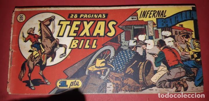 Tebeos: TEBEOS-COMICS CANDY - TEX WILLER - TEXAS BILL - COMPLETA - HISPANOAMERICANA 1949 - UNICA - UU99 - Foto 171 - 205257267