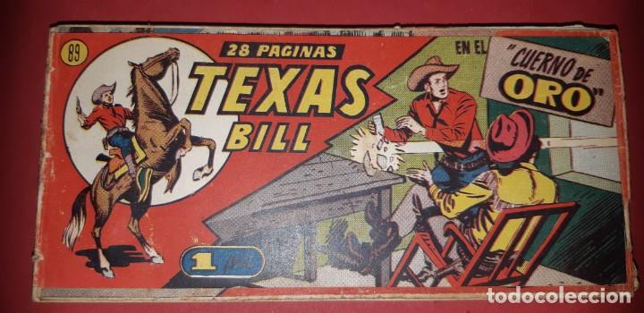 Tebeos: TEBEOS-COMICS CANDY - TEX WILLER - TEXAS BILL - COMPLETA - HISPANOAMERICANA 1949 - UNICA - UU99 - Foto 177 - 205257267