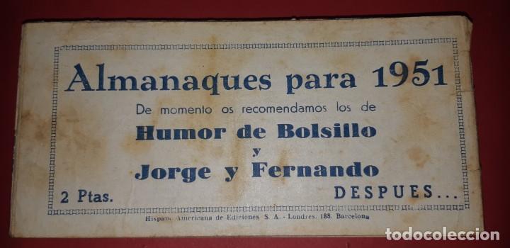 Tebeos: TEBEOS-COMICS CANDY - TEX WILLER - TEXAS BILL - COMPLETA - HISPANOAMERICANA 1949 - UNICA - UU99 - Foto 180 - 205257267