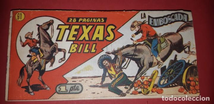 Tebeos: TEBEOS-COMICS CANDY - TEX WILLER - TEXAS BILL - COMPLETA - HISPANOAMERICANA 1949 - UNICA - UU99 - Foto 181 - 205257267
