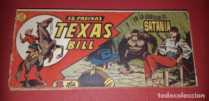 Tebeos: TEBEOS-COMICS CANDY - TEX WILLER - TEXAS BILL - COMPLETA - HISPANOAMERICANA 1949 - UNICA - UU99 - Foto 183 - 205257267