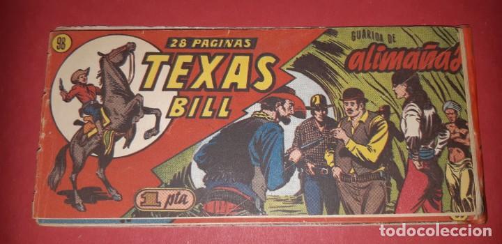 Tebeos: TEBEOS-COMICS CANDY - TEX WILLER - TEXAS BILL - COMPLETA - HISPANOAMERICANA 1949 - UNICA - UU99 - Foto 198 - 205257267