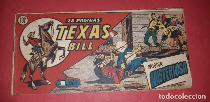 Tebeos: TEBEOS-COMICS CANDY - TEX WILLER - TEXAS BILL - COMPLETA - HISPANOAMERICANA 1949 - UNICA - UU99 - Foto 207 - 205257267