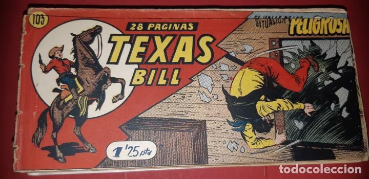 Tebeos: TEBEOS-COMICS CANDY - TEX WILLER - TEXAS BILL - COMPLETA - HISPANOAMERICANA 1949 - UNICA - UU99 - Foto 209 - 205257267