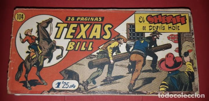 Tebeos: TEBEOS-COMICS CANDY - TEX WILLER - TEXAS BILL - COMPLETA - HISPANOAMERICANA 1949 - UNICA - UU99 - Foto 213 - 205257267