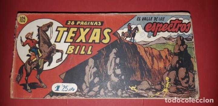 Tebeos: TEBEOS-COMICS CANDY - TEX WILLER - TEXAS BILL - COMPLETA - HISPANOAMERICANA 1949 - UNICA - UU99 - Foto 216 - 205257267