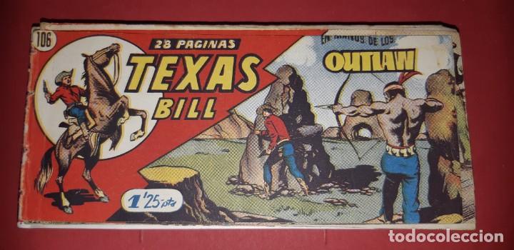 Tebeos: TEBEOS-COMICS CANDY - TEX WILLER - TEXAS BILL - COMPLETA - HISPANOAMERICANA 1949 - UNICA - UU99 - Foto 218 - 205257267