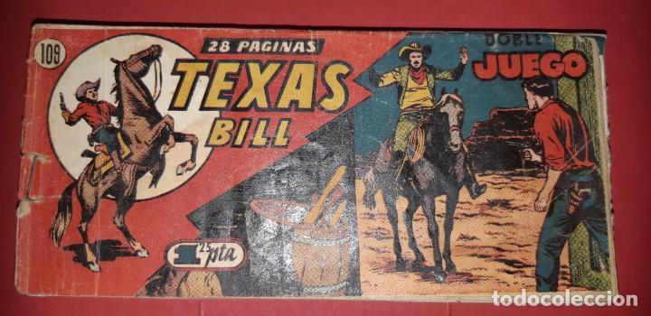 Tebeos: TEBEOS-COMICS CANDY - TEX WILLER - TEXAS BILL - COMPLETA - HISPANOAMERICANA 1949 - UNICA - UU99 - Foto 225 - 205257267