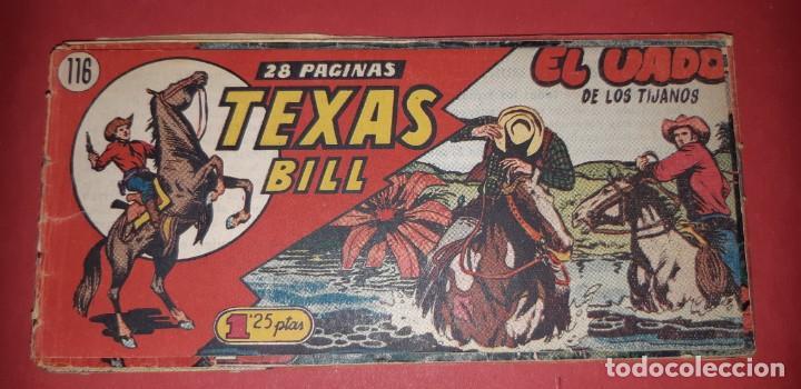 Tebeos: TEBEOS-COMICS CANDY - TEX WILLER - TEXAS BILL - COMPLETA - HISPANOAMERICANA 1949 - UNICA - UU99 - Foto 239 - 205257267