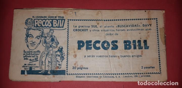 Tebeos: TEBEOS-COMICS CANDY - TEX WILLER - TEXAS BILL - COMPLETA - HISPANOAMERICANA 1949 - UNICA - UU99 - Foto 242 - 205257267