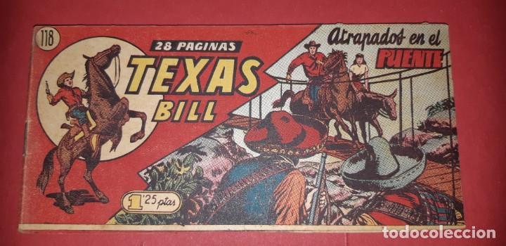 Tebeos: TEBEOS-COMICS CANDY - TEX WILLER - TEXAS BILL - COMPLETA - HISPANOAMERICANA 1949 - UNICA - UU99 - Foto 243 - 205257267