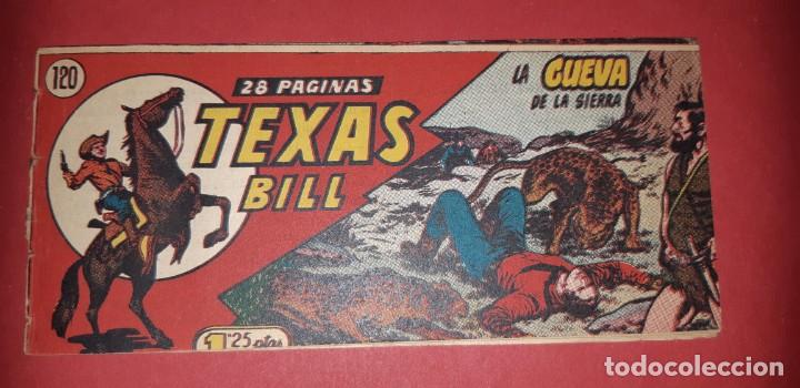 Tebeos: TEBEOS-COMICS CANDY - TEX WILLER - TEXAS BILL - COMPLETA - HISPANOAMERICANA 1949 - UNICA - UU99 - Foto 247 - 205257267