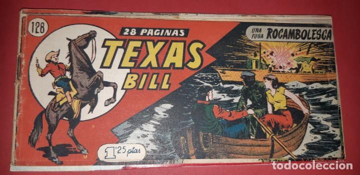 Tebeos: TEBEOS-COMICS CANDY - TEX WILLER - TEXAS BILL - COMPLETA - HISPANOAMERICANA 1949 - UNICA - UU99 - Foto 263 - 205257267