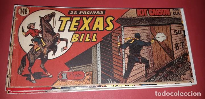 Tebeos: TEBEOS-COMICS CANDY - TEX WILLER - TEXAS BILL - COMPLETA - HISPANOAMERICANA 1949 - UNICA - UU99 - Foto 303 - 205257267