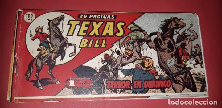 Tebeos: TEBEOS-COMICS CANDY - TEX WILLER - TEXAS BILL - COMPLETA - HISPANOAMERICANA 1949 - UNICA - UU99 - Foto 311 - 205257267