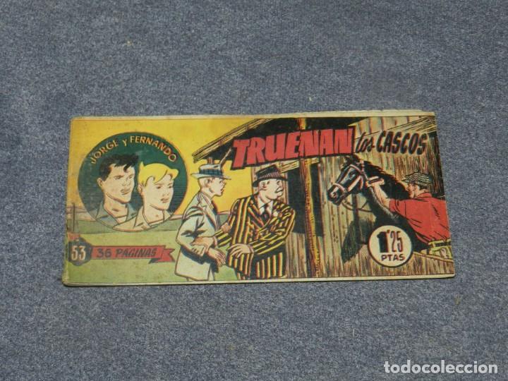 (M0) JORGE Y FERNANDO NUM 53 - HISPANO AMERICANA , SEÑALES DE USO (Tebeos y Comics - Hispano Americana - Jorge y Fernando)
