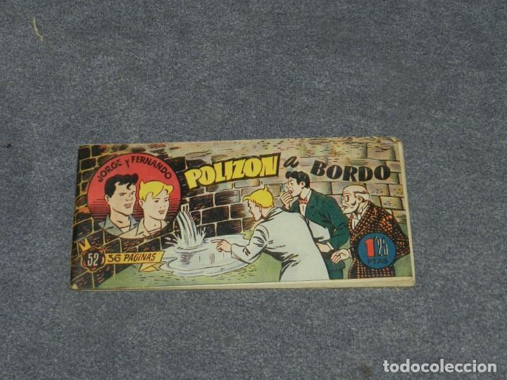 (M0) JORGE Y FERNANDO NUM 52 - HISPANO AMERICANA , SEÑALES DE USO (Tebeos y Comics - Hispano Americana - Jorge y Fernando)