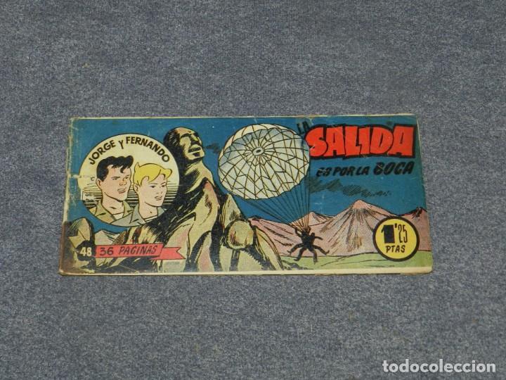 (M0) JORGE Y FERNANDO NUM 48 - HISPANO AMERICANA , SEÑALES DE USO (Tebeos y Comics - Hispano Americana - Jorge y Fernando)
