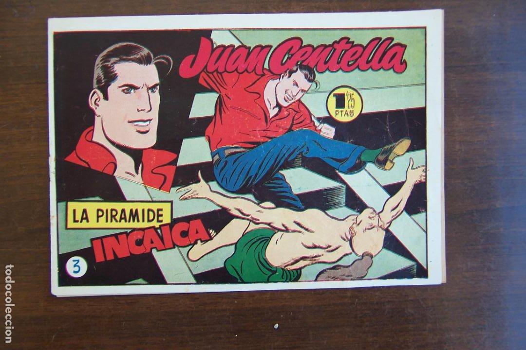 Tebeos: hispano americana,- juan centella 2ª época nº 1-2-3-4-6-7-8-9-10-11-12-13-15-17-30, mas publicit - Foto 5 - 101076167