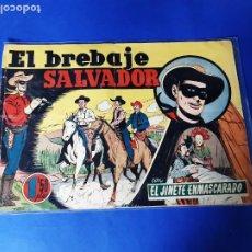 Tebeos: EL JINETE ENMASCARADO - Nº 18, EL BREBAJE SALVADOR - EDITORIAL HISPANO AMERICANA 1943. Lote 209736671