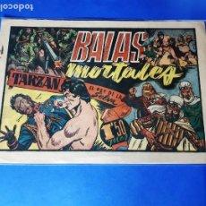Tebeos: TARZAN. BALAS MORTALES - ORIGINAL - EDITORIAL HISPANO AMERICANA. Lote 209736996