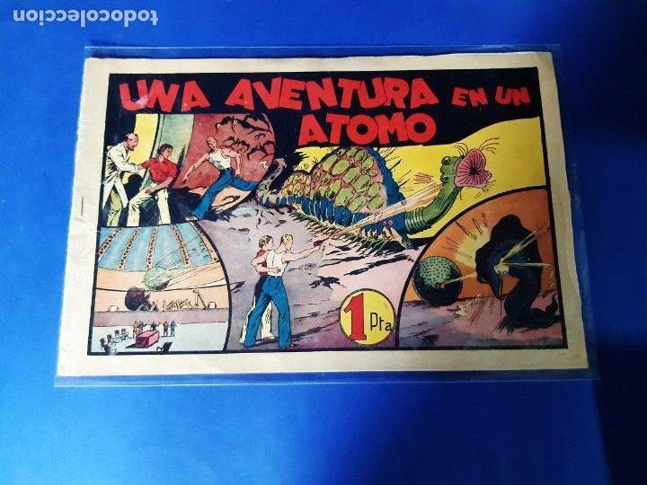 COMIC CARLOS EL INTREPIDO Nº13 UNA AVENTURA EN UN ATOMO - BUEN ESTADO (Tebeos y Comics - Hispano Americana - Carlos el Intrépido)