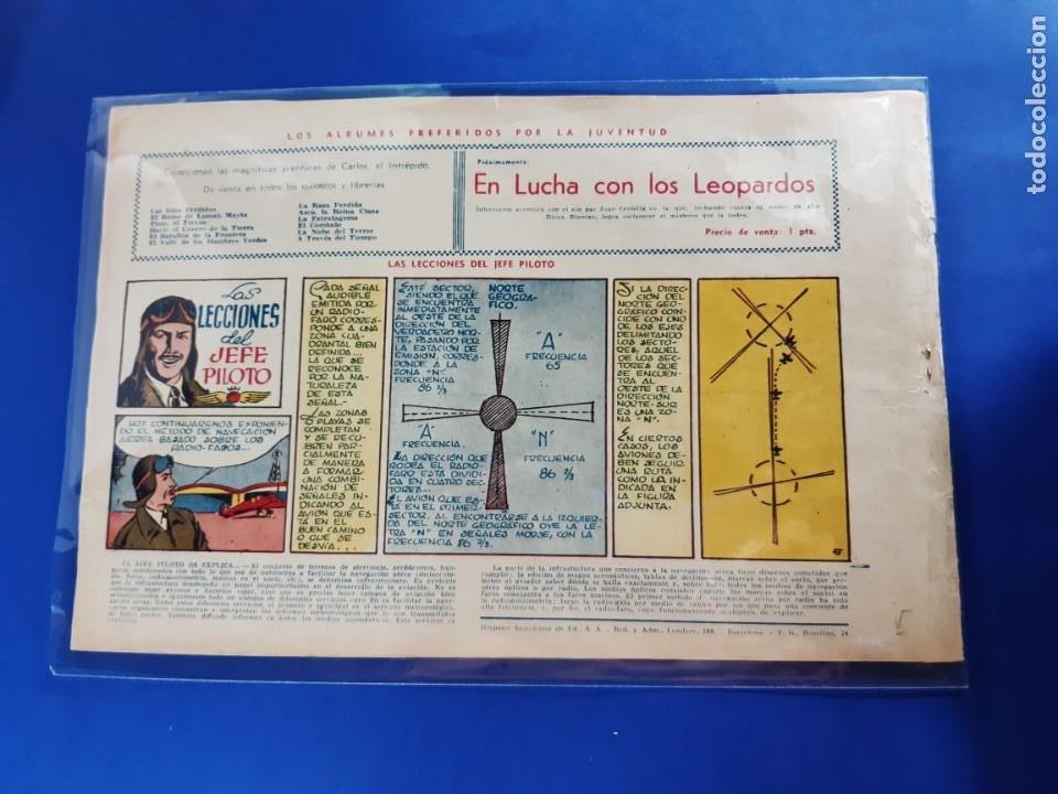 Tebeos: COMIC CARLOS EL INTREPIDO Nº13 UNA AVENTURA EN UN ATOMO - BUEN ESTADO - Foto 2 - 209744983