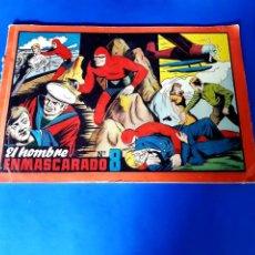 Tebeos: EL HOMBRE ENMASCARADO-TOMO ROJO Nº 8 H.AMERICANA-32 X 22. Lote 209747322