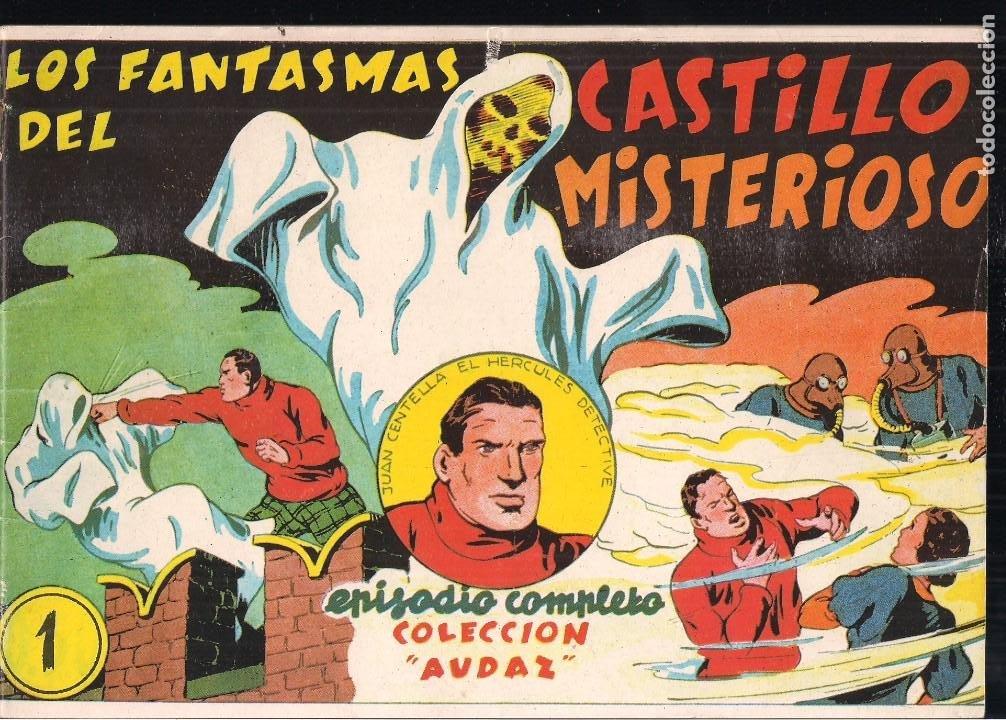 JUAN CENTELLA REEDICIÓN DE COMIC-MAM 1988. DOS AVENTURAS POR NUMERO (Tebeos y Comics - Hispano Americana - Juan Centella)