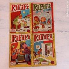 Tebeos: RIFIFI NºS 2,6,7,8 HISPANO AMERICANA 1961 ORIGINALES. Lote 212303571