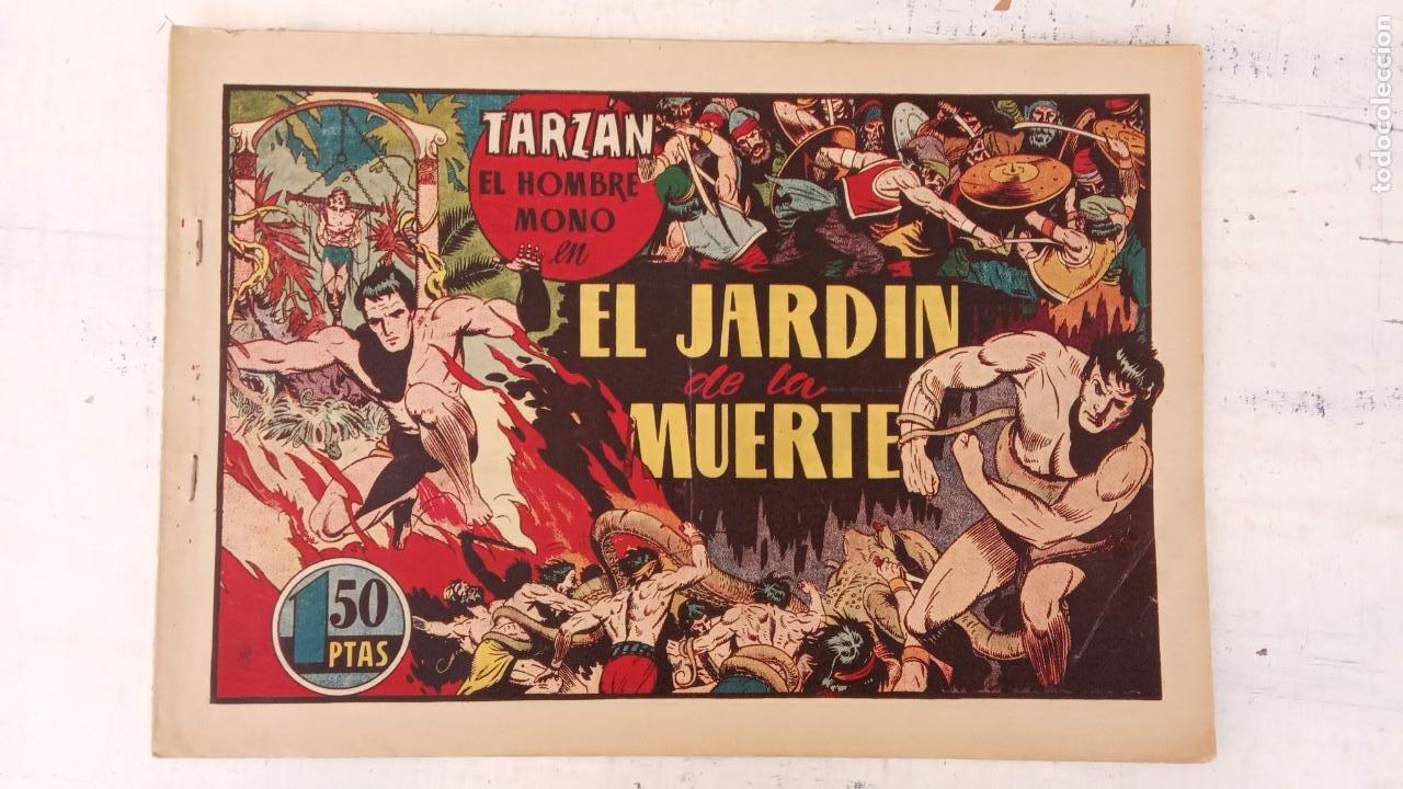 TARZAN EL HOMBRE MONO Nº 25 EL JARDIN DE LA MUERTE - ORIGINAL HISPANO AMERICANA (Tebeos y Comics - Hispano Americana - Tarzán)