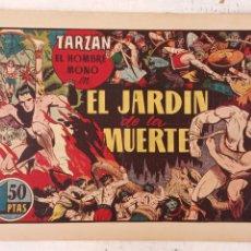 Tebeos: TARZAN EL HOMBRE MONO Nº 25 EL JARDIN DE LA MUERTE - ORIGINAL HISPANO AMERICANA. Lote 212303782