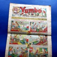 Tebeos: YUMBO Nº 65 -FORMATO GRANDE-1934. Lote 212331666