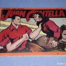 Livros de Banda Desenhada: JUAN CENTELLA ALBUM ROJO Nº 4 ORIGINAL DE HISPANO AMERICANA EN EXCELENTE ESTADO. Lote 212401323