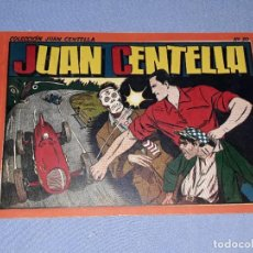 Livros de Banda Desenhada: JUAN CENTELLA ALBUM ROJO Nº 10 ORIGINAL DE HISPANO AMERICANA EN EXCELENTE ESTADO. Lote 212401636
