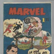 Tebeos: MARVEL 2: LA VIDA SECRETA DEL CAPITÁN MARVEL, 1949, HISPANO AMERICANA. Lote 212754160