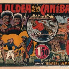 Tebeos: LA ALDEA DE LOS CANIBALES Nº 28 DEL HOMBRE ENMASCARADO ORIGINAL NUEVO. Lote 213121252