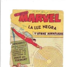 Livros de Banda Desenhada: * EL CAPITÁN MARVEL * Nº 28, ORIGINAL * ED. HISPANO AMERICANA 1960 *. Lote 214433802